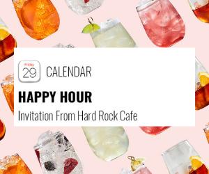 HRC - Happy hour