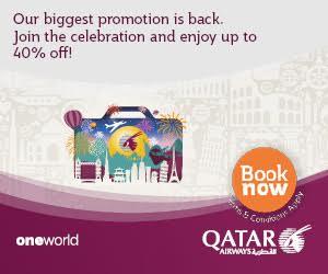 Qatar Airways - Home (Top 1)