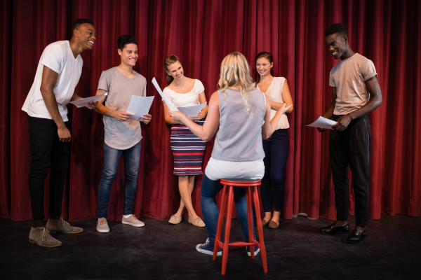 ABC's of Acting in English for Beginners