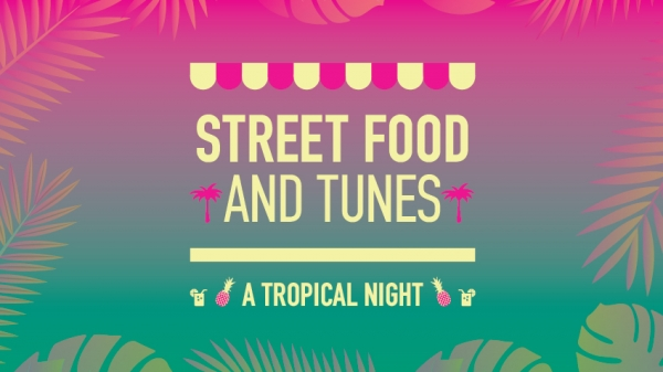Street Food & Tunes - A Tropical Night At The Big Kahuna