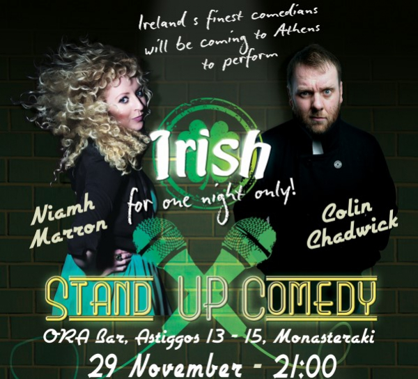 Irish Stand-Up Comedy In Athens