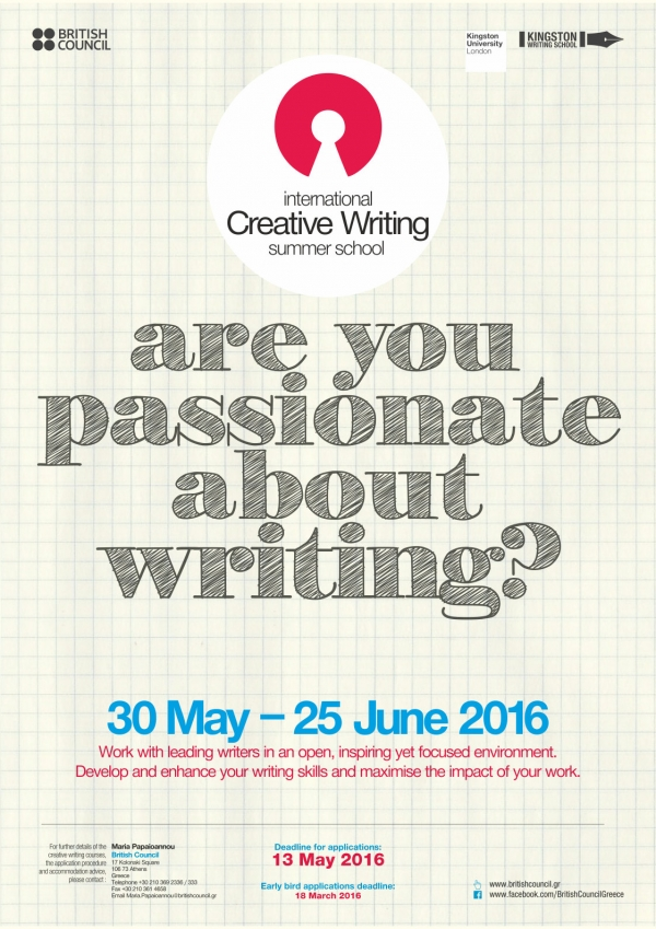 Creative writing summer school