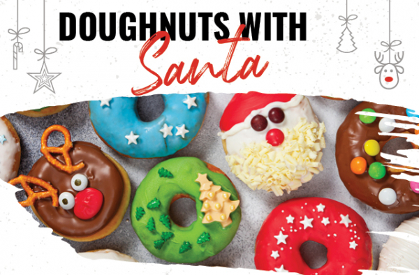Doughnuts With Santa At Hard Rock Cafe