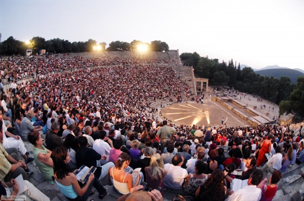 Ancient Theatre Of Epidaurus