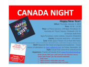 Friends Of Canada - New Year's Canada night