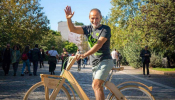 Greek Entrepreneur Cycles Around The World Against Climate Change