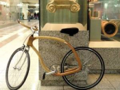 Wooden Eco-Bike, Made In Greece