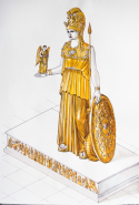 The Lost Statue Of Athena Parthenos At The Acropolis Museum
