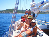 Saronic Sailing Escape & The Pistachio Festival
