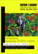 FokiaNou Art Space ~ A Solo Painting Exhibition By María Galván Cobo