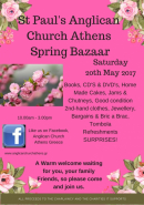 St Paul's Anglican Church Spring Bazaar