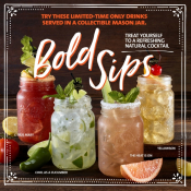 Fall Cocktails- Bold Sips
