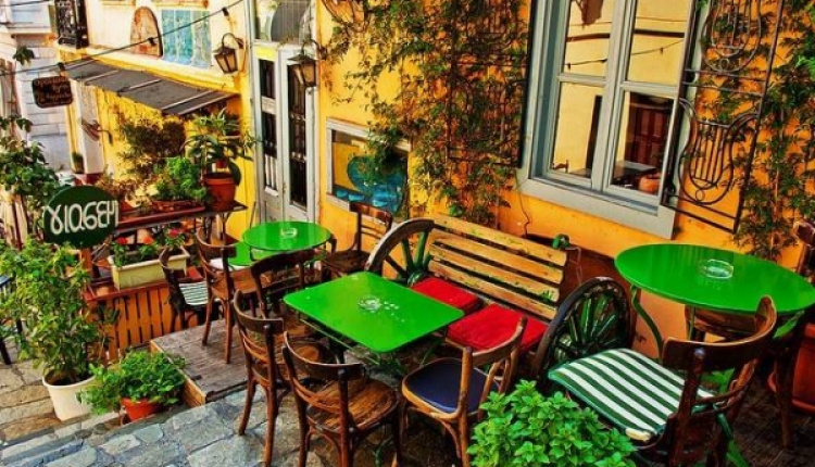 Cafe Yiasemi Adorning The Heart Of Plaka