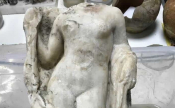 Aphrodite Statue Discovered In Thessaloniki