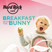 Breakfast With Bunny At Hard Rock Cafe Athens