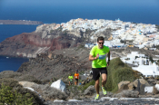 Run Along The Caldera At The 5th Santorini Experience