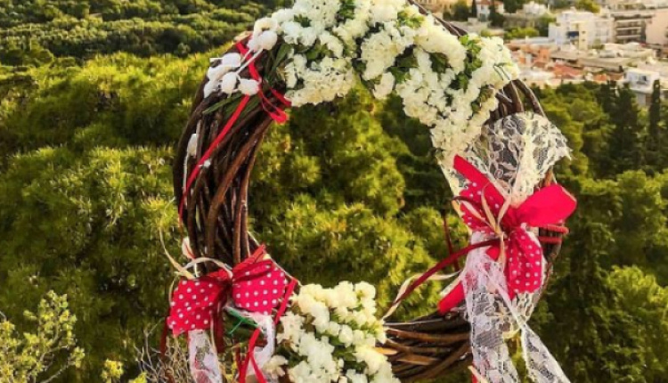 How To Make A May Day Flower Wreath