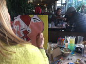 Wine & Painting Event By ''Like Picasso Events''