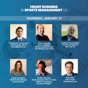 World-Class Speakers Of The Sports Industry  At The Front Runners 3.0