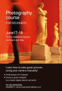 Athens Creative Photo - Photography Course For Beginners