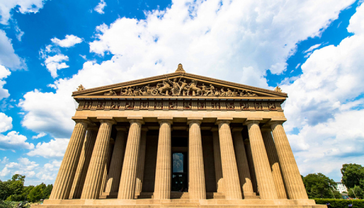 Odd But True: Tennessee Has Its Own Full Scale Replica Of the Parthenon