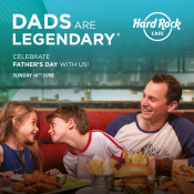 Father's Day Celebration At Hard Rock Cafe
