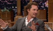 "Matthew McConaughey On Jimmy Fallon - ""I Didn't Want To Leave Greece"""