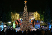 Athens Christmas Lights Switch On | Tuesday November 24