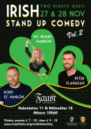 Irish Stand-up Comedy Live In Athens 2019