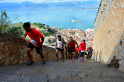 Runners Challenge Their Limits At The Nafplio Castle Run