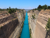 Amazing Facts About The Corinth Canal