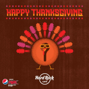Thanksgiving At Hard Rock Cafe Athens