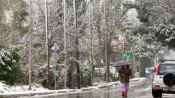 Icy Weather All Over Greece