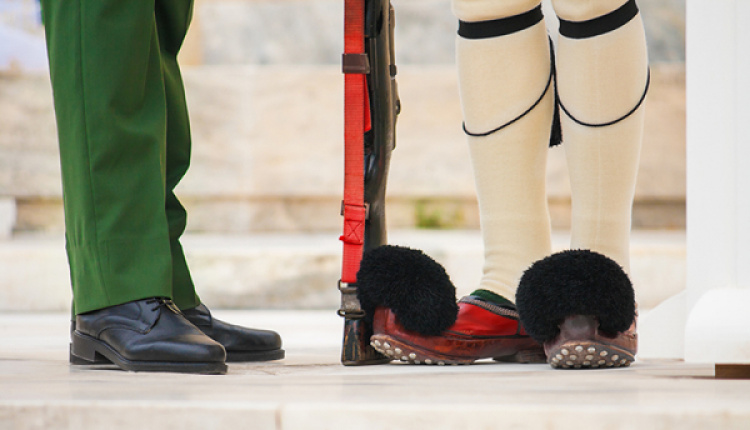A Half-Greek Yorkshireman Completes Conscription At  Presidential Guard