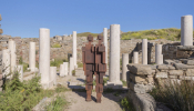 Famous British Sculptor Puts 'Inhabitants' Back On The Sacred Island Of Delos