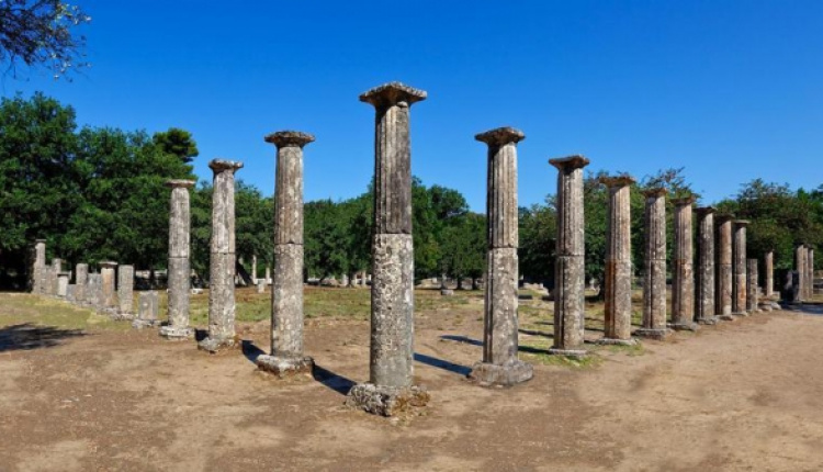 Ancient Olympia Excavations Reveal 30m Colonnade