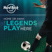 Football Match Final At Hard Rock Cafe