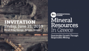 9th International Forum Mineral Resources In Greece