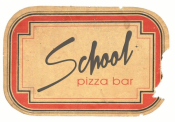 School Pizza Bar ~ Best Pizza In Athens