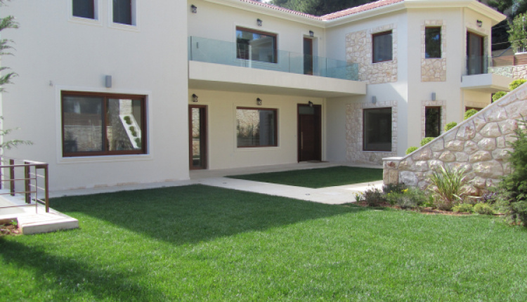 Gorgeous Minimal Style House For Sale In Dionysos