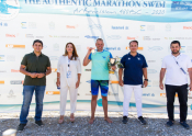 The Authentic Marathon Swim Revived 2.500 Years Later At Artemision