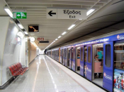 Taking Passengers Back In Time - The Athens Metro