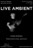 Costas Andreou - Live Ambient