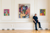George  Condo  At The Museum  Of  Cycladic  Art