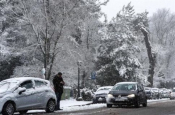 Greece Hit By New Wave Of Snow And Bad Weather