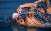 Spyros Gianniotis & The European Swimming Elite At The Authentic Swimming Marathon